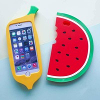 Watermelon Phone Cases For iPhone 7 7 plus 6 6s plus