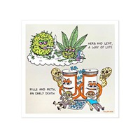 Herb & Leaf Art Print (Limited Edition)