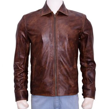 Ben Stiller Movie Starsky and Hutch Leather Jacket – In Style Jackets