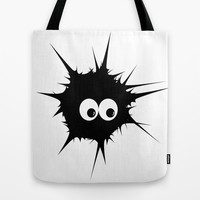 Cute monster furry  Tote Bag by VanessaGF