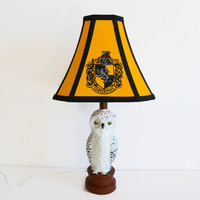 Harry Potter Lamp - Hufflepuff