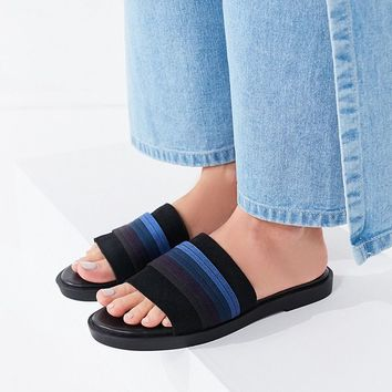 Drew Striped Slide | Urban Outfitters