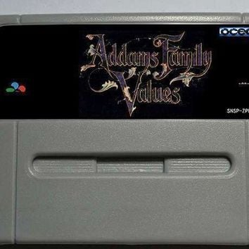 Addams Family Values - Action Game Cartridge EUR Version 16 bit 46 pin