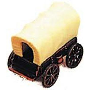 Antique Pencil Sharpener: Covered Wagon