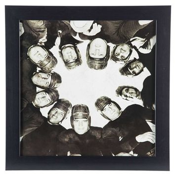 Vintage Football Huddle Framed Wall Art | Shop Hobby Lobby
