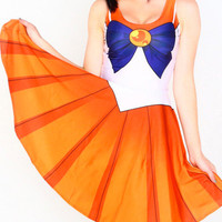 Sailor Moon Printed Dress