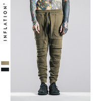 Publish Men Jogger Pants Ripped Sweatpants Joggers Cargo Harem Pants For Men