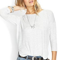 FOREVER 21 Heathered Dolman Top