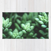 Succulent plants Rug by VanessaGF