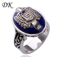 Movie Vampire Diaries Damon Stefan Salvatore Sun Family Crest Rings Vintage vampire diaries jewelry 9#