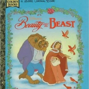 Disney's Beauty and the Beast (Little Golden Book) [Hardcover]