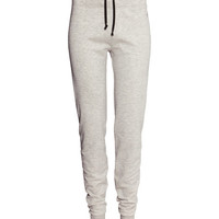 H&M - Yoga Pants - Light gray - Ladies