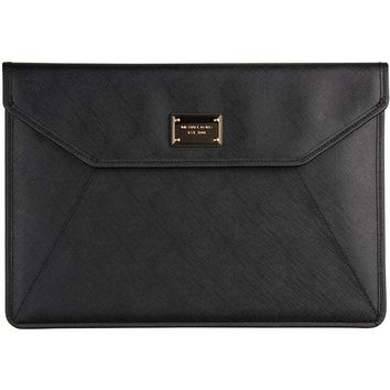 "Michael Kors Sleeve for Apple MacBook Air 13"" w/ two snap closure - Black"