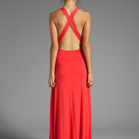 Lovers + Friends Feeling Fine Maxi Tank Dress in Tigerlily from REVOLVEclothing.com