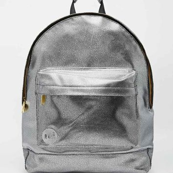 Mi-Pac Backpack in Metallic Silver