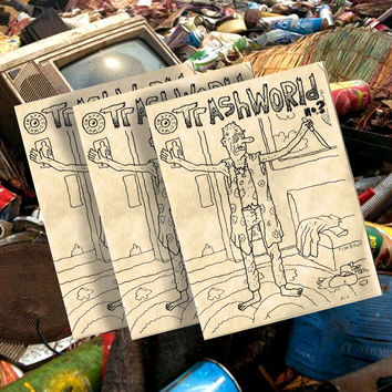 TRASH WORLD COMIX #3 BY TIM ROOT