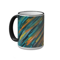 Abstract Art Coffee Mugs by Blossom