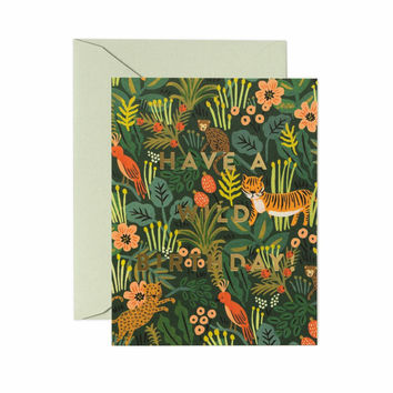 RIFLE PAPER WILD BIRTHDAY CARD
