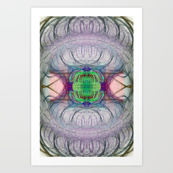 Bifrost Nebula Art Print by virtualkee