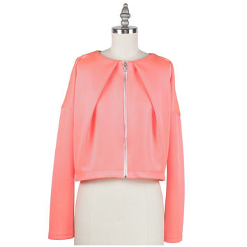 Neoprene drap jacket