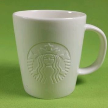 Starbucks 2014 - Etched Siren Mug, 3 fl oz NEW