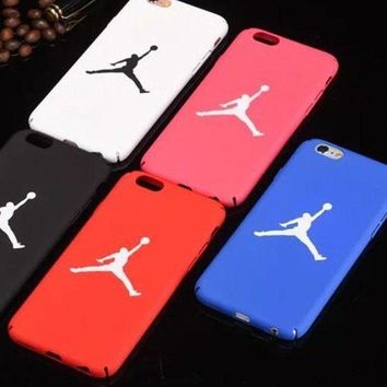CREYDC0 Michael Jordan NBA Basket Color Custodia case cover IPhone 5 5s 6 6s 7 8 X PLUS