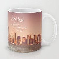 Vintage *** NEW YORK is always a GOOD IDEA ***  Mug by SUNLIGHT STUDIOS Monika Strigel