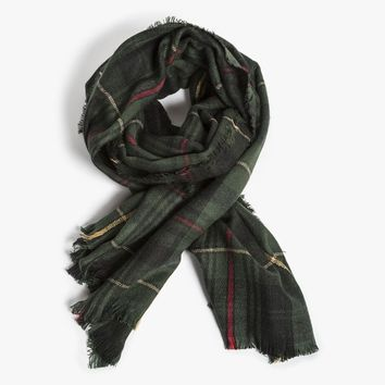 Priam Plaid Scarf