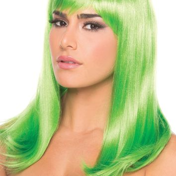 Hollywood Wig Green