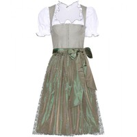 lanz - mytheresa.com exclusive cotton mieder dirndl with gritti blouse and printed apron