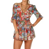 Sale-red Floral