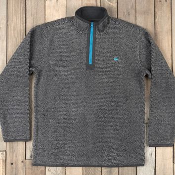 Southern Marsh Highland Alpaca Pullover - Charcoal Gray