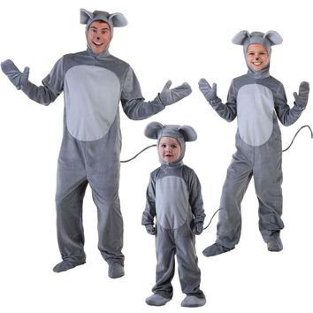 Mouse Costume For Baby Children Mouse Cosplay Costumes Animal Clothes Winter Jumpsuit