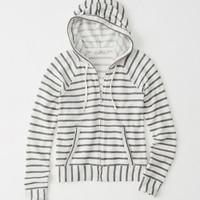 Womens French Terry Hoodie | Womens Tops | Abercrombie.com