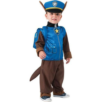 Paw Patrol - Chase Toddler/Child Costume - Small (4-6)