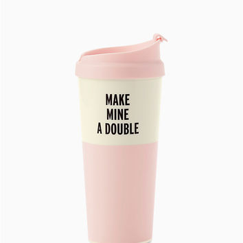 make mine a double thermal mug | Kate Spade New York