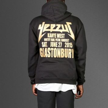 Authentic Champion Kanye Yeezus Glastonbury hoodie - WEHUSTLE | MENSWEAR, WOMENSWEAR, HATS, MIXTAPES & MORE