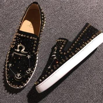 Cl Christian Louboutin Flat Style #764