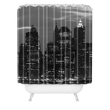 Leonidas Oxby New York Financial District Shower Curtain
