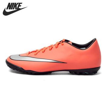Original New Arrival 2016 NIKE MERCURIAL VICTORY V TF Men's Soccer Shoes Football Sn