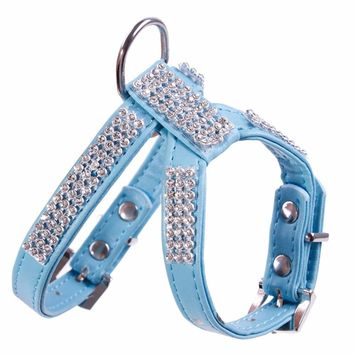 Rhinestone Harness Dogs/Cats