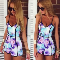 Fashion Jumpsuit Rompers Bodysuit Overalls For Womens Ladies Summer Sexy