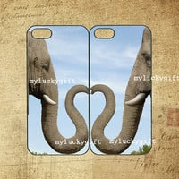 Elephant case,iphone 5C case,iphone 5 case,iphone 5S case,iphone 4 case,samsung S3 case,Galaxy S4 case,note3 case,s4 mini,Any two can match