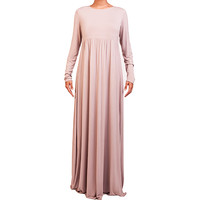 MOCHA CASUAL ABAYA - £49.99 : Inayah, Islamic clothing & fashion, abayas, jilbabs, hijabs, jalabiyas & hijab pins
