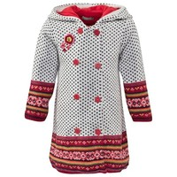 Catimini Fairisle Knitted Coat | AlexandAlexa
