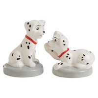 101 Dalmatian Puppies Sculpted Ceramic Salt & Pepper Shakers