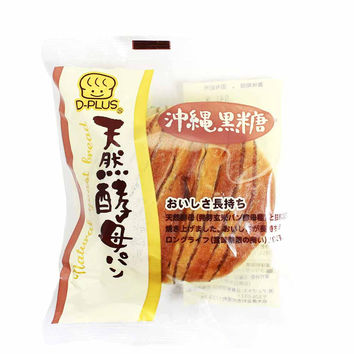 Japanese Bread with Okinawa Brown Sugar by D-Plus 2.8 oz