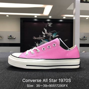 Converse Chuck Taylor All Star 1970s Pink Women Low Canvas Shoes