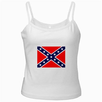 US Confederate Battle Flag Ladies Camisole