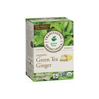 Organic Green Tea With Ginger, 16 Bags by Traditional Medicinals